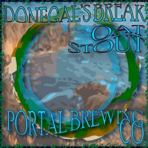 Portal Brewing Co's Donegals Break Oat Stout